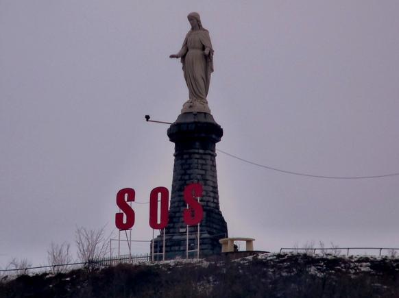 statue Notre-Dame Hayange