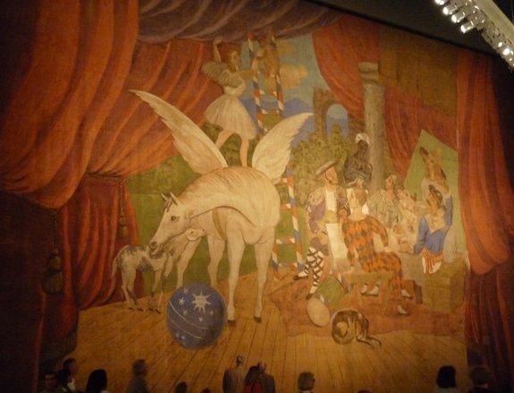 L'année 1917 exposée au Centre Pompidou-Metz dans Culture et patrimoine parade-picasso-cpm