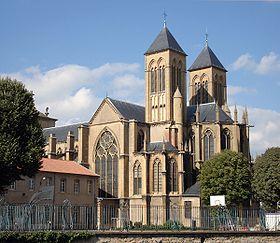 Saint-Vincent : Perle gothique de Metz dans Culture et patrimoine Basilique-Saint-Vincent-Metz