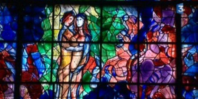 Le Parcours Chagall à Sarrebourg dans Culture et patrimoine vitrail-Chagall-Sarrebourg
