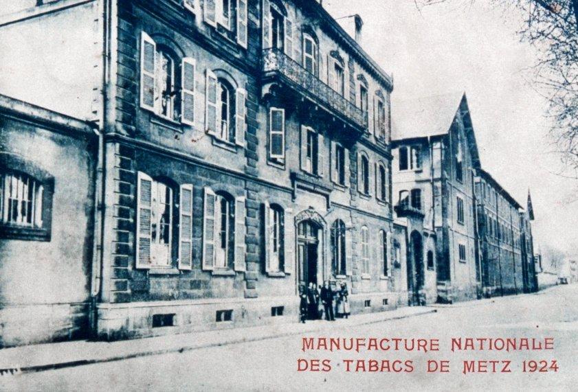 Metz : sous la Manufacture, des casernes dans Culture et patrimoine Manufacture-Tabacs-Metz