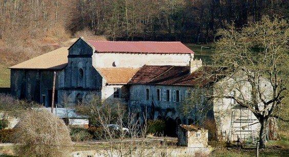 Une abbaye dans la forêt à Vilcey-sur-Trey dans Culture et patrimoine abbaye-vilcey-sur-trey
