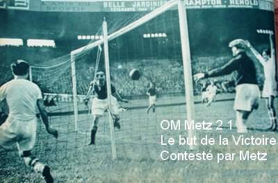 8 mai 1938 : Metz volé par l'OM et par l'arbitre dans Histoire metz-om-finale-1938