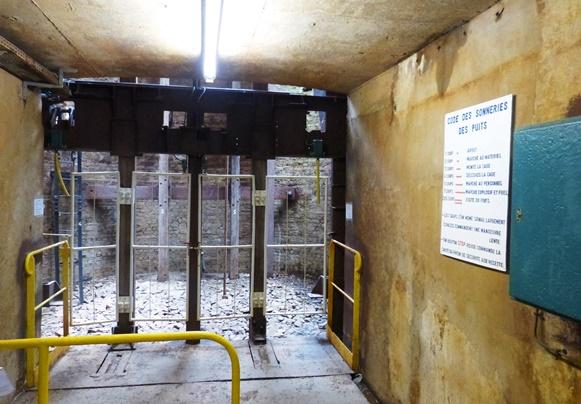 quai embarquement Ecomusée Mines Fer Lorraine Aumetz