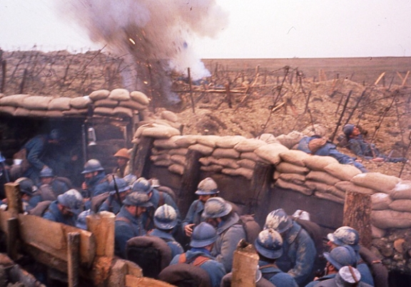 Guerre 1914-1918 : tournage en Meuse dans Actualité tranchees-verdun-tournage