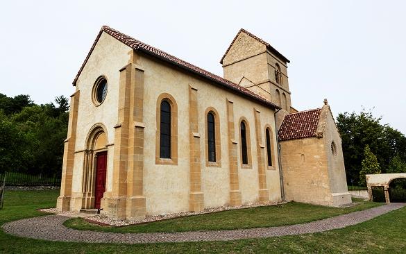 La Chapelle de Morlange, chef d'œuvre de l'art roman en Lorraine dans Culture et patrimoine chapelle-morlange-1
