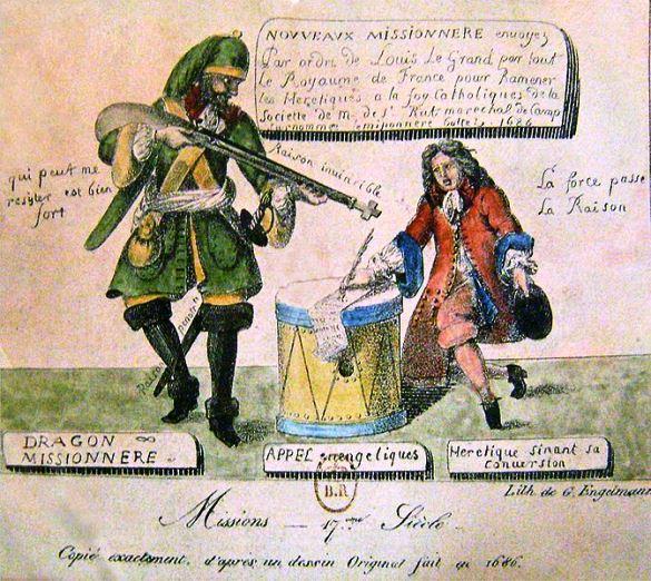 De l'exil des protestants de Metz dans Culture et patrimoine dragonnades
