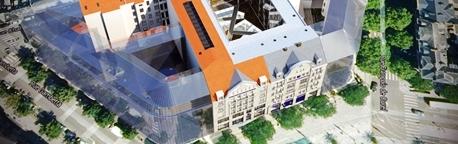 Rénovation du siège de la Banque Populaire Lorraine-Champagne dans Actualité