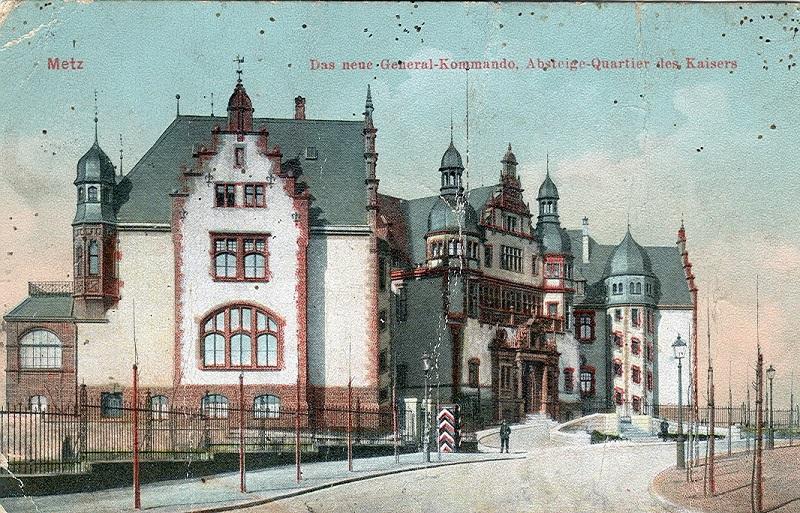 Metz Palais Gouverneur 1917