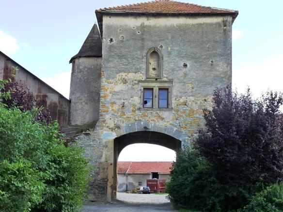 porte fortifiée Fleury