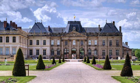 Château Lunéville jardins