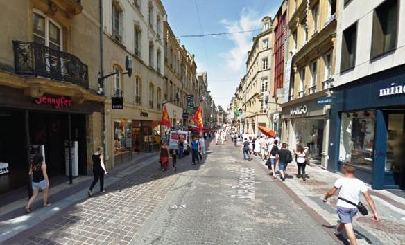 Rue Serpenoise Metz