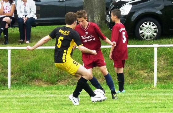GBL FC vs ES Lixing Vahl-Ebersing 9