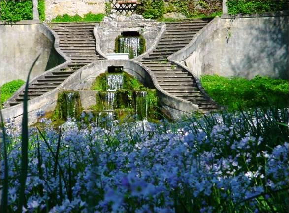 jardins château Arry