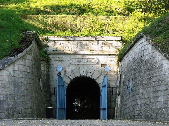 entrée Citadelle souterraine Verdun