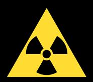 logo radioactivité