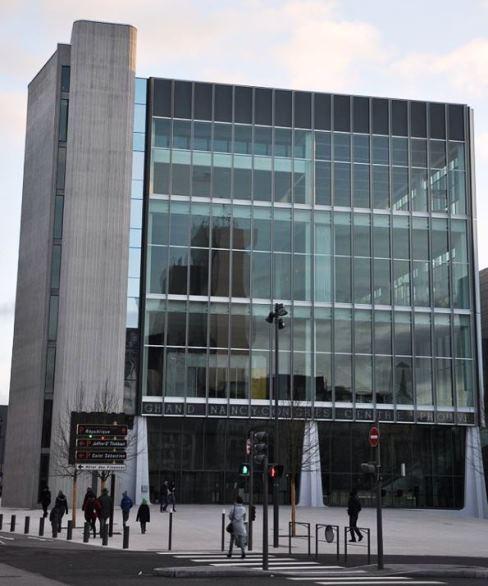 palais congrès Nancy Prouvé
