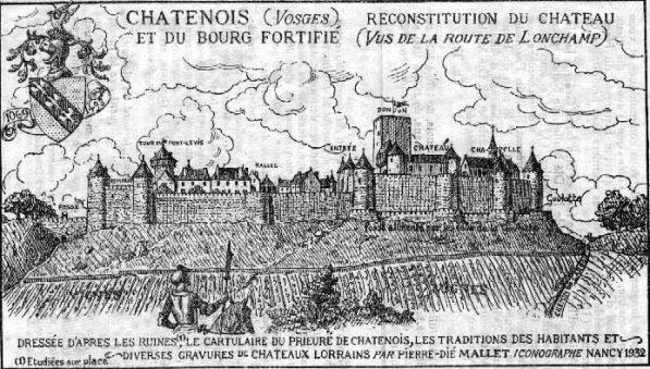 chateau Châtenois