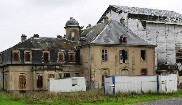 Château Favorite Lunéville restauration
