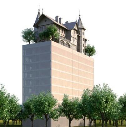 hôtel Starck Metz