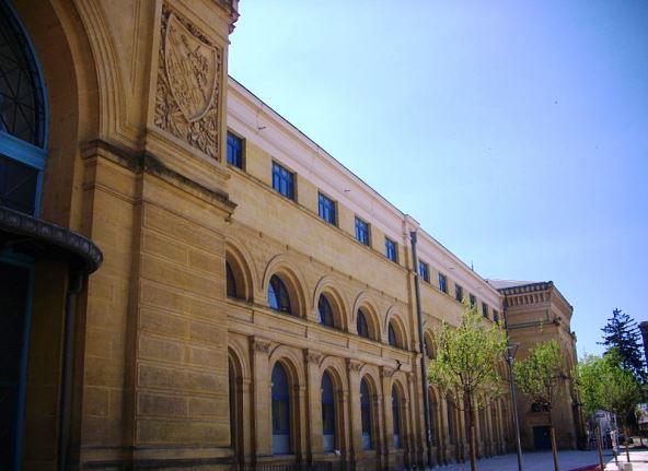 ancienne gare Metz