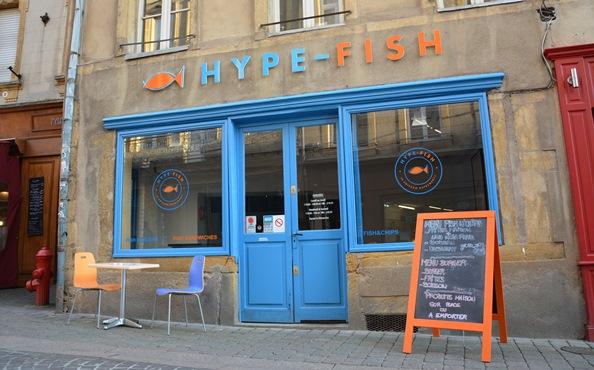 devanture Hype Fisch