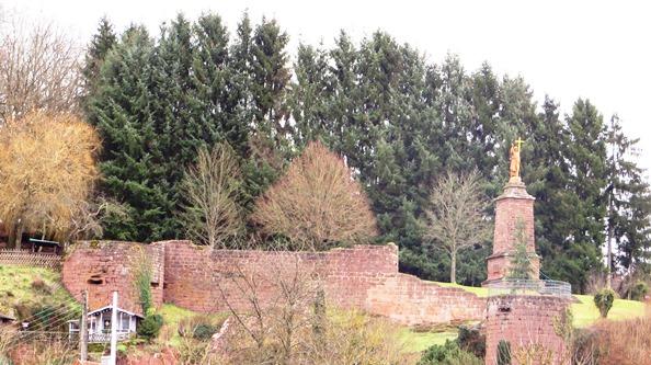 Walschbronn château