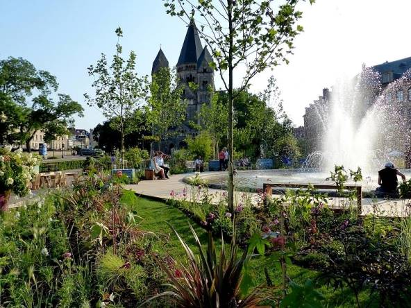 Ble archives jardins d t metz for Jardin fabert metz