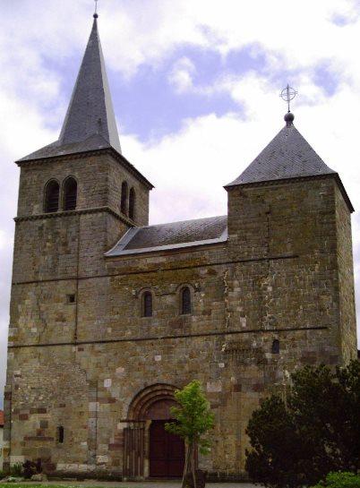 collégiale Saint-Léger Marsal