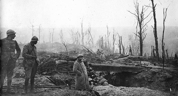 tranchée Verdun