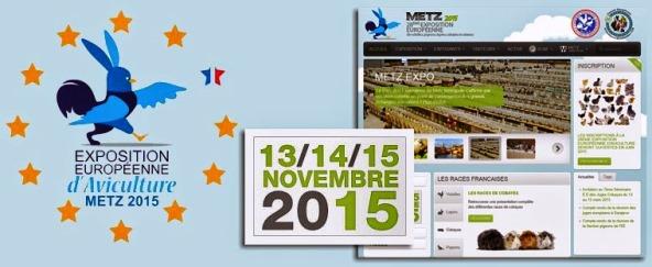 Exposition européenne aviculture Metz 2015
