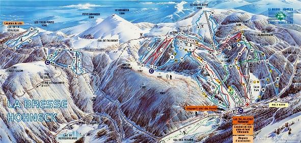 location ski a la bresse