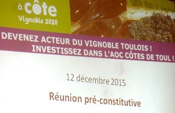 réunion GFA Côtes de Toul